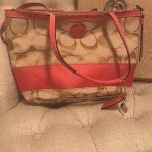 Coach summer purse